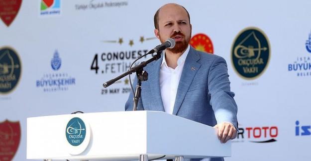 Bilal Erdoğan: Bizi tutsak etmeye çalıştılar ama olmayacak .