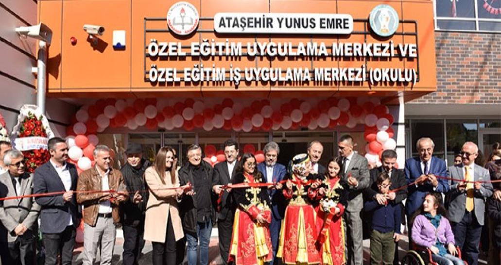 ATAŞEHİR'DE EĞİTİM İLE ENGELLER AŞILIYOR..