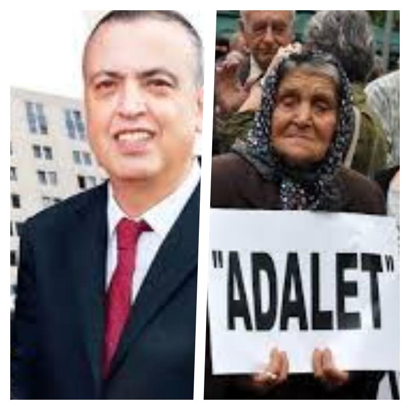 Halk Ataşehir Belediyesine Neredesin EY ADALET DEDİ.