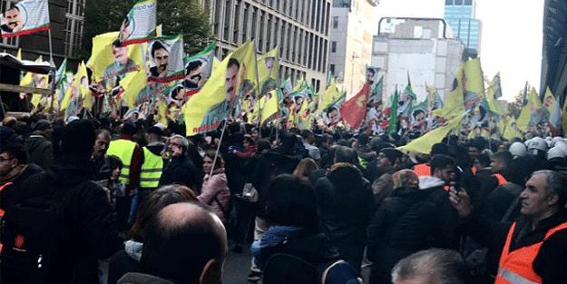 PKK'lı teröristler Almanya'yı birbirine kattı