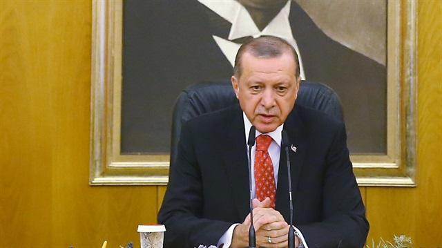 POLİTİKA Cumhurbaşkanı Erdoğan'dan ABD ve Rusya'nın Suriye açıklamasına tepki