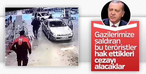 Erdoğan: Gazilere saldıranlar cezasını fazlası ile görecekler.