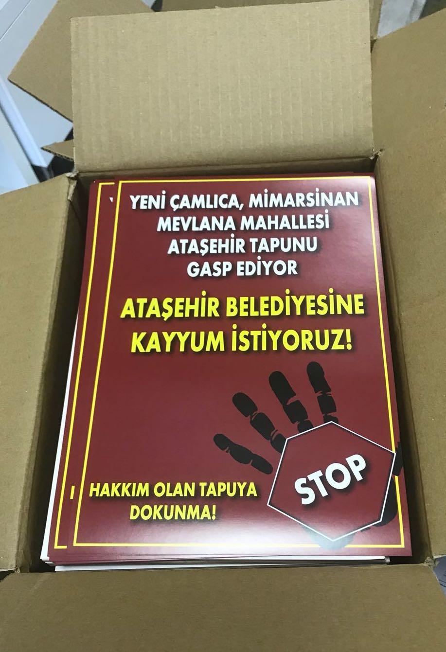 Ataşehir Belediyesindeki Usulsüz Rantı , Vatandaş Cimere Şikayet Etmişti.