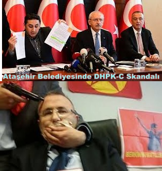 Ataşehir Belediyesin'de DHKP-C skandalı!