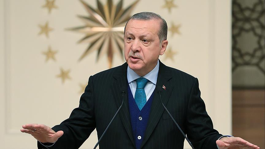 Cumhurbaşkanı Erdoğan: 'Kudüs kararının hiçbir hükmü olamaz'