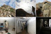 Teröristlerin 300 metrelik 'televizyonlu' tünelini AA görüntüledi