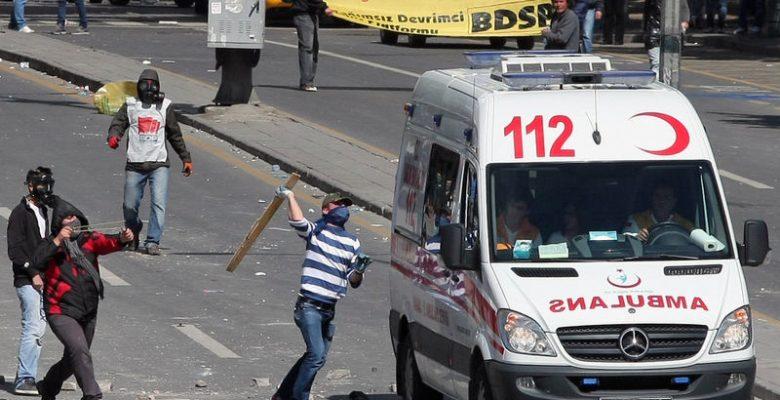 Türk Tabipler Birliği; Terörün  Ağzı Oldunuz . Ambulanslara Saldırılırken Neredeydiniz?