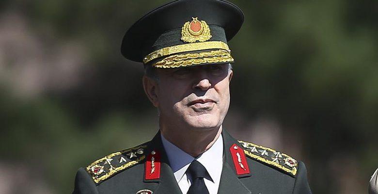Genelkurmay Başkanı Orgeneral Akar Ürdün'e gitti