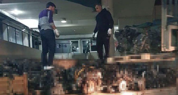 Yedpa Ticaret Merkezin'e İstanbul Emniyet Müdürülüğü Kaçakçılığınca milyonluk  Baskın yapıldı…..