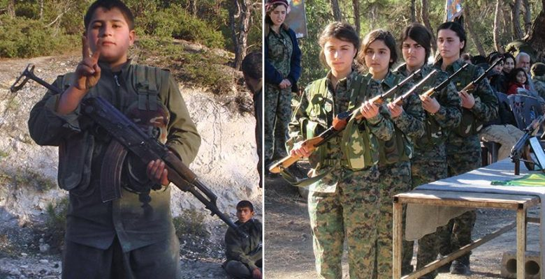 Hafıza kartlarından YPG/PKK'nın 'çocuk savaşçıları' çıktı