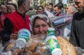 Mazlumun umudu Türk Kızılayı Afrinlilerin yanında