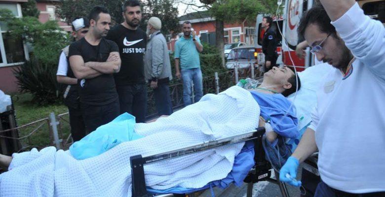 Ataşehir'de Özel hastanede silahlı saldırı…