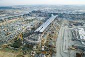 Bakan Arslan: İstanbul Yeni Havalimanı öngörülen zamanda tamamlanacak
