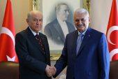 Başbakan Yıldırım ile MHP Genel Başkanı Bahçeli bir araya geldi