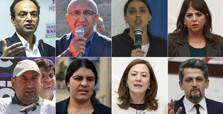 HDP'li 8 milletvekilli hakkında fezleke