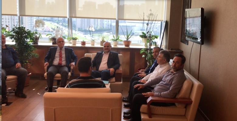 Ataşehir Belediye Başkanı İlhami Yılmaz ; Yeni Çamlıca Platformuna Tapu Mağduriyetini 15 Hazirandan Önce Çözeceğiz dedi.