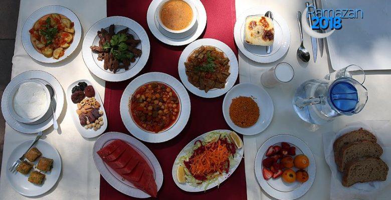 Sağlık Bakanlığından ramazanda beslenme uyarısı