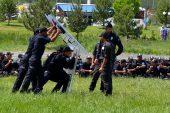 Suriyeli polislere zorlu eğitim