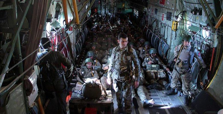 'Erciyes-2018 Tatbikatı' hava indirme operasyonuyla tamamlandı