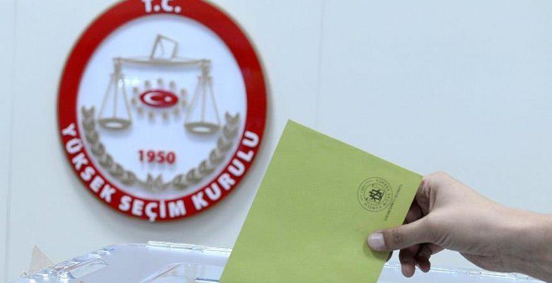 Seçimde 74 bağımsız aday da yarışacak