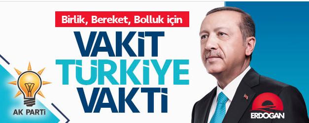 Vakit Türkiye Vakti…..