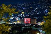 Saraybosna'nın hafızası' Türk bayrağına büründü