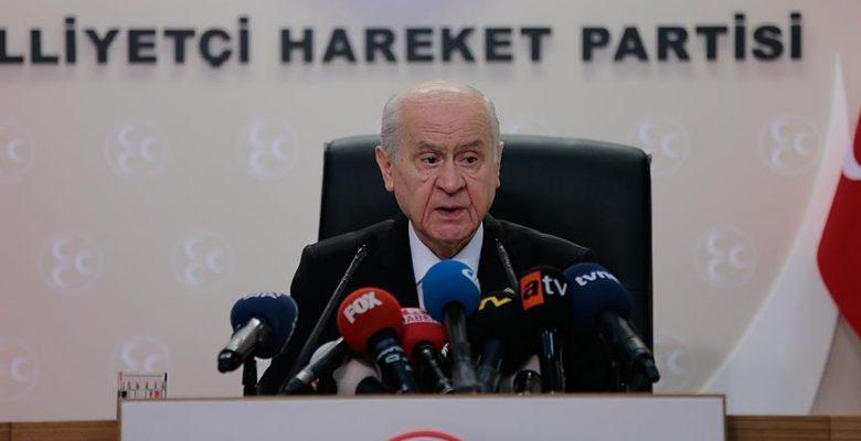 Bahçeli'den 'İYİ Parti' açıklaması