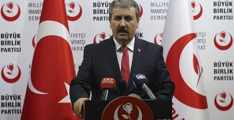 BBP Genel Başkanı Destici: Yerel seçimler sonbahara alınsın