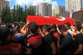Ataşehir ; Şehit polisini  törenle uğurlandı!