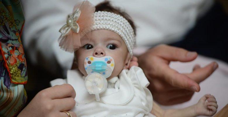 Türkiye'de en düşük ağırlıklı karaciğer naklini gerçekleştirdik