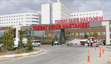 Yozgat Şehir Hastanesi'ne 1,5 milyon hasta başvurdu