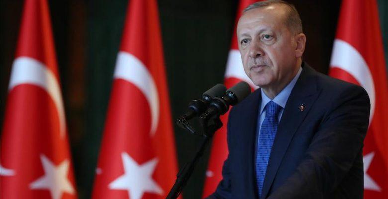 Cumhurbaşkanı Erdoğan'dan Zafer Bayramı mesajı.