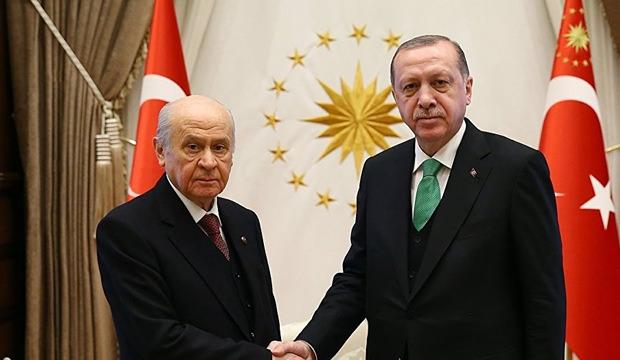 Başkan Erdoğan: Bahçeli ile her an görüşebiliriz!