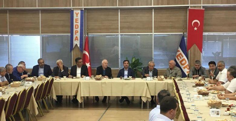 CHP İstabul MV. İbrahim Kaboğlu ve Ataşehir Belediyesi; Yedpa İle  Tapu görüşmeleri  Yaptı…