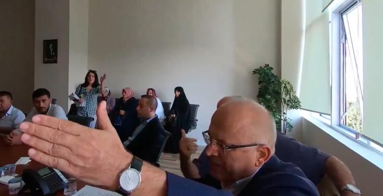 Ataşehir Belediye Başkanı İlhami Yılmaz ve Yardımcıları halkın sesi olan Gazetecileri  Tehdit etti..
