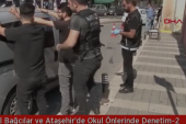 İstanbul Bağcılar ve Ataşehir'de Okul Önlerinde Denetim.