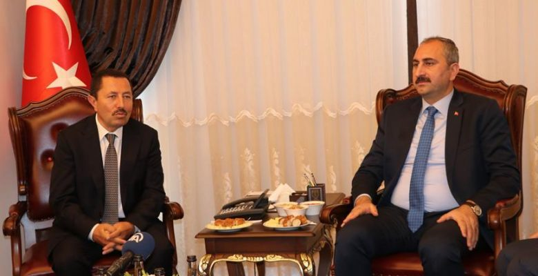 Adalet Bakanı Gül Sakarya'da.