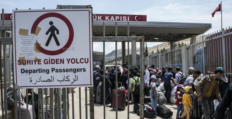 Ramazan Bayramı için giden 50 bin Suriyeli Türkiye'ye dönmedi.