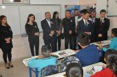 Şehit pilot Yasin Boy'un adı okulda yaşıyor.