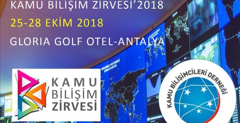 Kamu bilişimcileri Antalya'da bir araya gelecek.