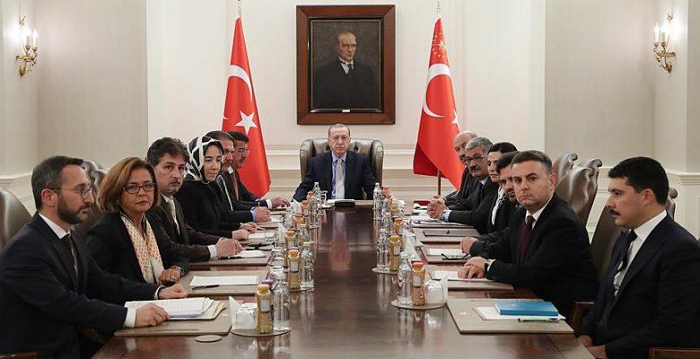 Ekonomi Politikaları Kurulu toplandı.