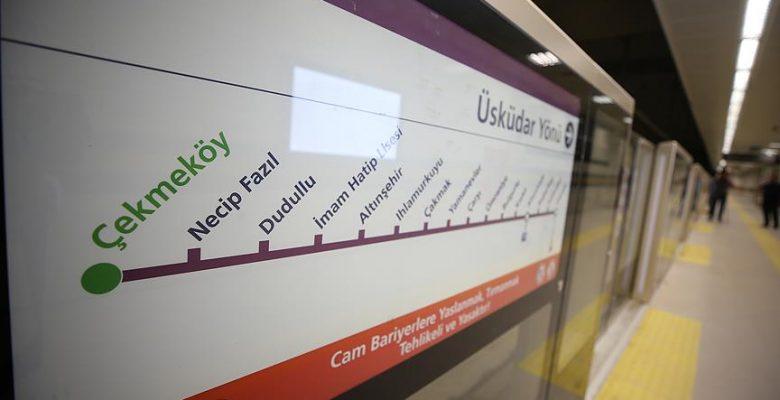 Üsküdar-Ümraniye-Çekmeköy metrosunun 2. etabı açılıyor.
