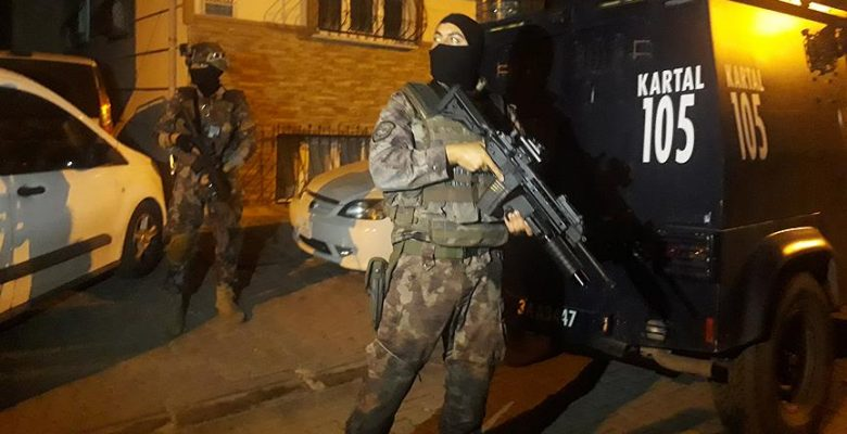 İstanbul'un 6 ilçesinde uyuşturucu operasyonu.