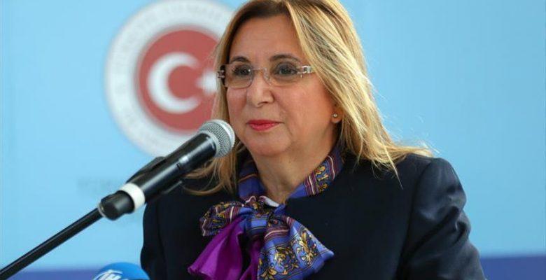 Ticaret Bakanı Ruhsar Pekcan: Türkiye'nin gelişme mücadelesi girişimcilerle yükselecek.