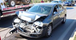 6 Aracın Kaza Yapmasına Neden Olan Kedi, Ezilmekten Kurtulamadı.
