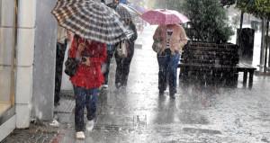 Meteorolojiden 12 İl İçin Sağanak Yağış Uyarısı.
