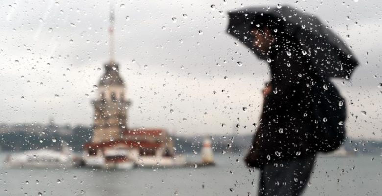 Meteorolojiden Marmara'da kuvvetli yağış uyarısı.