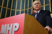 MHP Genel Başkanı Devlet Bahçeli: Türk milletini tartışmak düşmana koz vermektir.
