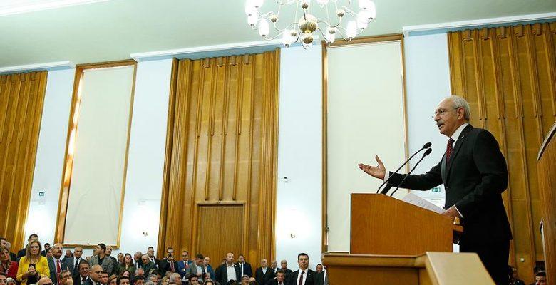 CHP Genel Başkanı Kılıçdaroğlu: Türkiye'ye adalet gelinceye kadar mücadele edeceğiz.