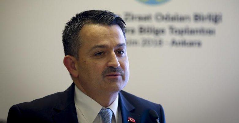 Tarım ve Orman Bakanı Pakdemirli: Türkiye'nin buğday üretimi kendi kendine yeterli.